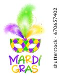 traditional colors carnival... | Shutterstock . vector #670657402