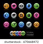social sharing and... | Shutterstock .eps vector #670668472