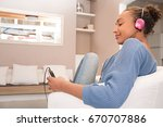 beautiful african american... | Shutterstock . vector #670707886