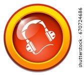 headphones icon | Shutterstock .eps vector #670724686