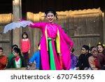 hanoi  vietnam   jun 22  2017 ... | Shutterstock . vector #670745596