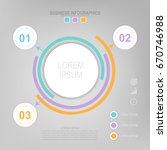 infographic template of... | Shutterstock .eps vector #670746988