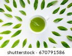 Healthy Light Green Tea Cup...