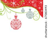 christmas background | Shutterstock .eps vector #67083493