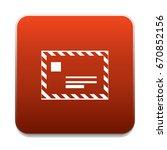 post letter icon   Shutterstock .eps vector #670852156