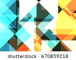 abstract background of... | Shutterstock . vector #670859218