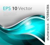 aquamarine digital background... | Shutterstock .eps vector #670886386