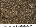 the texture of the granite of... | Shutterstock . vector #670962625