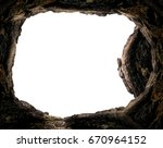 resurrection concept  tomb... | Shutterstock . vector #670964152
