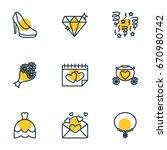 vector illustration of 9... | Shutterstock .eps vector #670980742