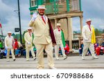portland  oregon  usa   june 10 ... | Shutterstock . vector #670988686