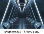 futuristic background  science... | Shutterstock . vector #670991182