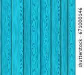realistic blue wooden texture ... | Shutterstock .eps vector #671000146