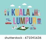 malaysia   Shutterstock .eps vector #671041636