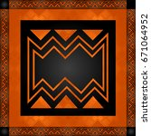 african culture symbolic...   Shutterstock .eps vector #671064952