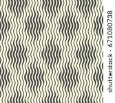 seamless wave and stripe...   Shutterstock .eps vector #671080738
