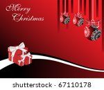 vector illustration for merry... | Shutterstock .eps vector #67110178