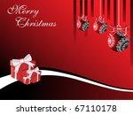 vector illustration for merry... | Shutterstock .eps vector #67110178