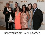 Small photo of The cast of Life in Pieces attend the 2015 CBS Upfront at The Tent at Lincoln Center on May 13, 2015 in New York City.