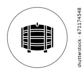 barrel   Shutterstock .eps vector #671174548