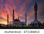 beautifull mosque   Shutterstock . vector #671186812
