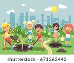 stock vector illustration... | Shutterstock .eps vector #671262442
