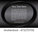 template black  silver and...   Shutterstock .eps vector #671272732