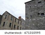 Stock photo kilmainham goal in dublin 671310595