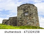 abandoned observatory on top of ... | Shutterstock . vector #671324158