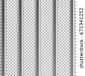 jail bars vector illustration.... | Shutterstock .eps vector #671341252
