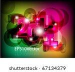 abstract vector background | Shutterstock .eps vector #67134379