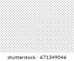 dotted simple seamless pattern. ... | Shutterstock . vector #671349046
