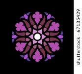 Vector Rosette Design