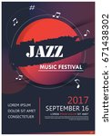 Music Party Jazz Band Poster....