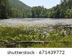 peace in the valley    Shutterstock . vector #671439772