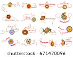 easy to edit vector... | Shutterstock .eps vector #671470096