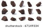 dark chocolate chunks...