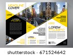 business brochure. flyer design.... | Shutterstock .eps vector #671524642