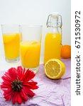 Fresh Homemade Lemonade In...