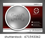 vector business flyer.   Shutterstock .eps vector #671543362