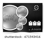 vector business flyer.   Shutterstock .eps vector #671543416