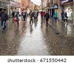 nottingham  england   november... | Shutterstock . vector #671550442