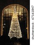Christmas Tree Made Of Led...