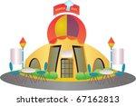 vector restaurant | Shutterstock .eps vector #67162813