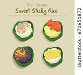 Sweet Sticky Rice With Thai...