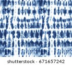 japanese shibori technique tie... | Shutterstock .eps vector #671657242