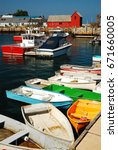 Lobster Boats And Dinghies...