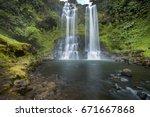 Landscape Of Tad Fan Waterfall...