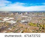 downtown phoenix  arizona  usa. ... | Shutterstock . vector #671672722