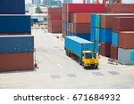 containers are stow at